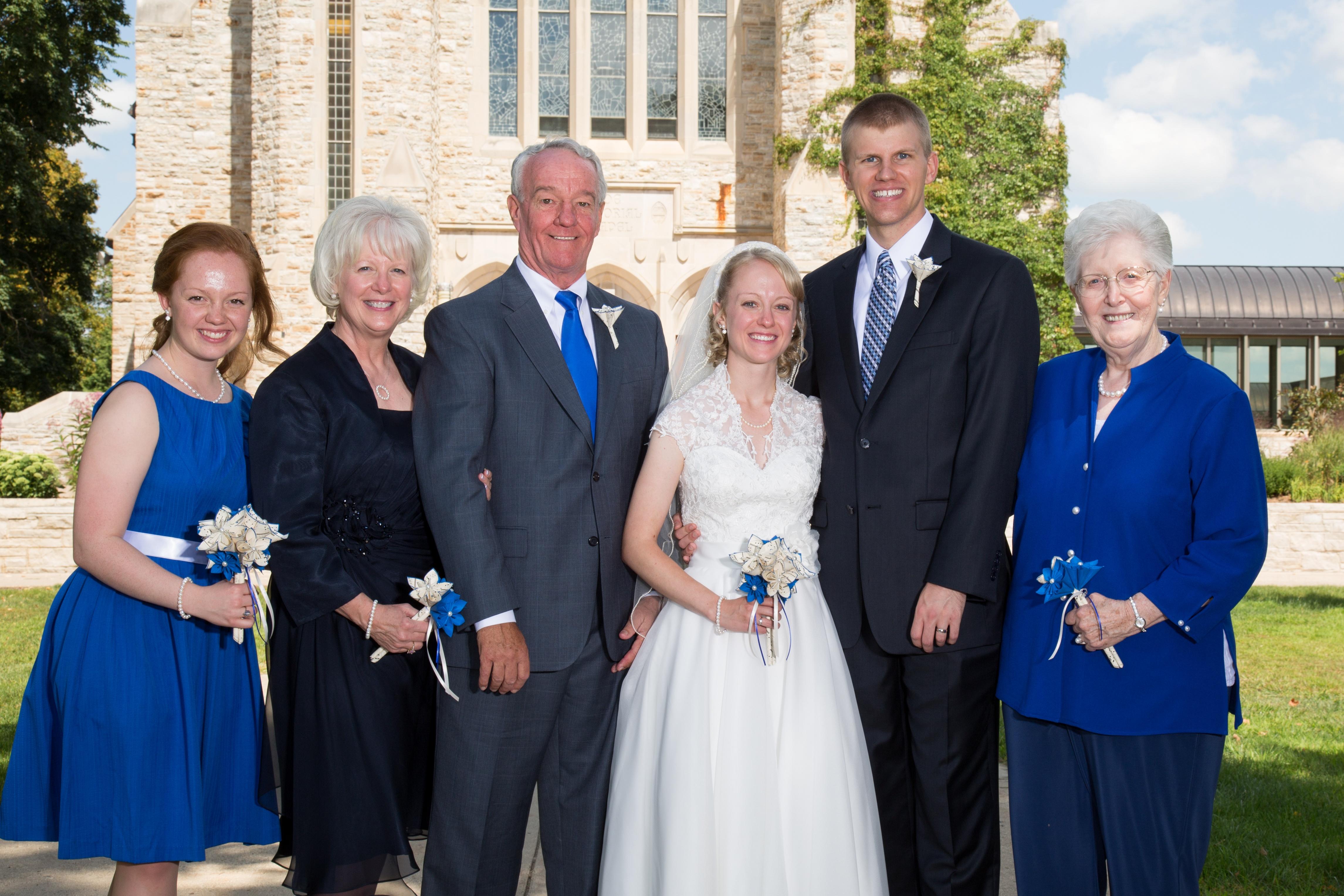 19q - 2013 Wedding - Emily, Kim, Tom, Abbe, Aaron and Nana