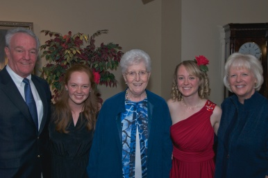 18k - 2012 Abbe's Senior Recital - Tom, Emily, Nana, Abbe and Kim